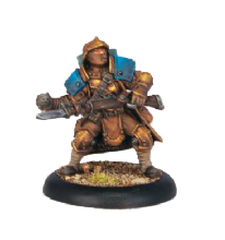Cygnar Trencher Infantry & Attachments (13)